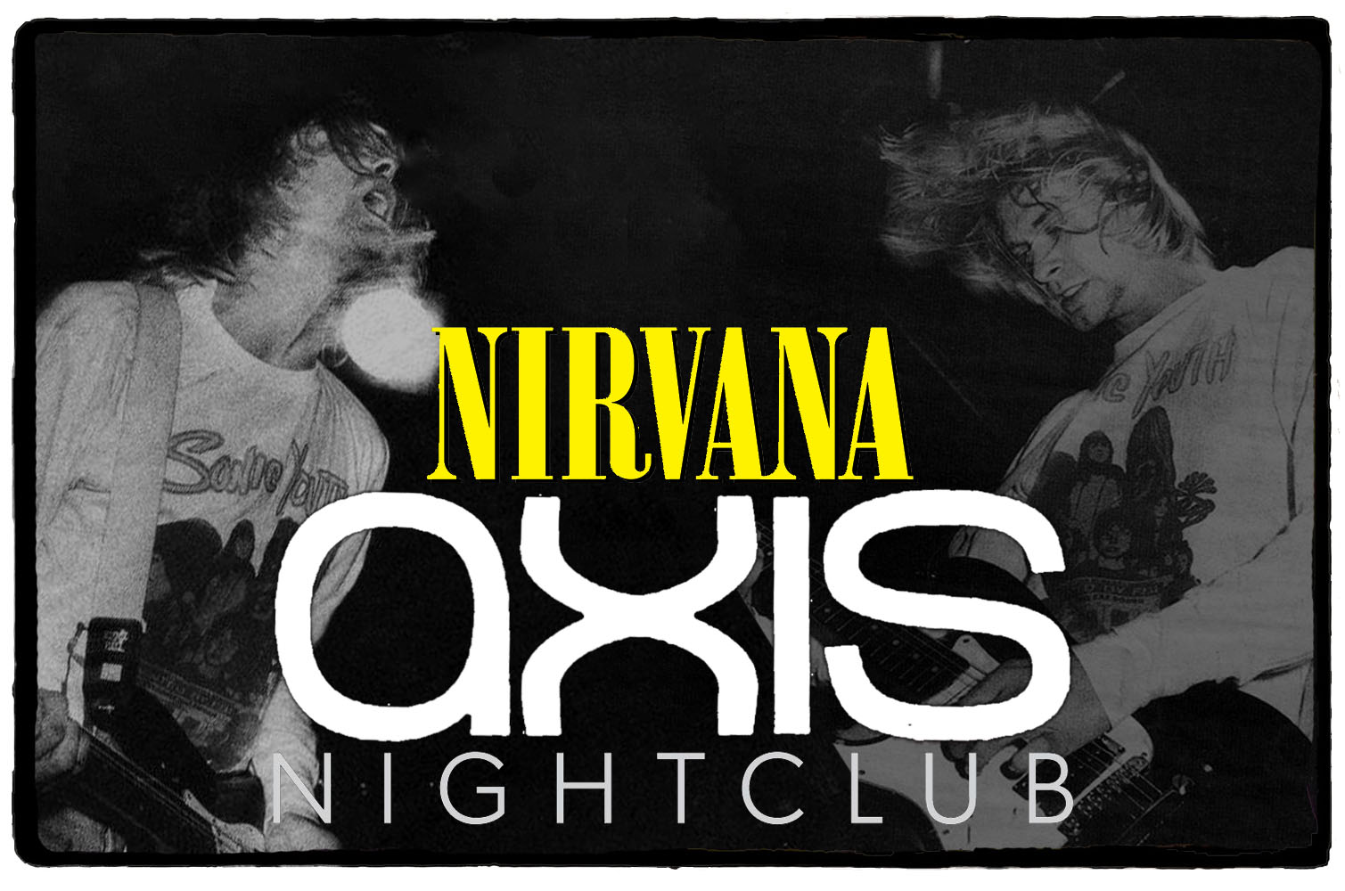 Nirvana no Axis Nightclub – 23 e 24 de Setembro de 1991