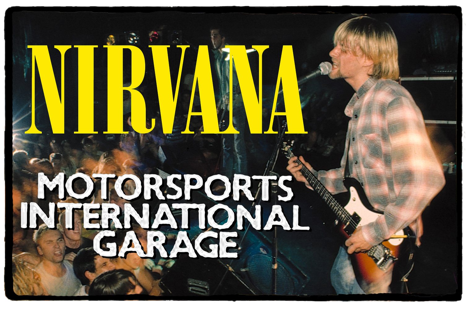 Nirvana no Motor Sports International Garage – 22 de Setembro de 1990