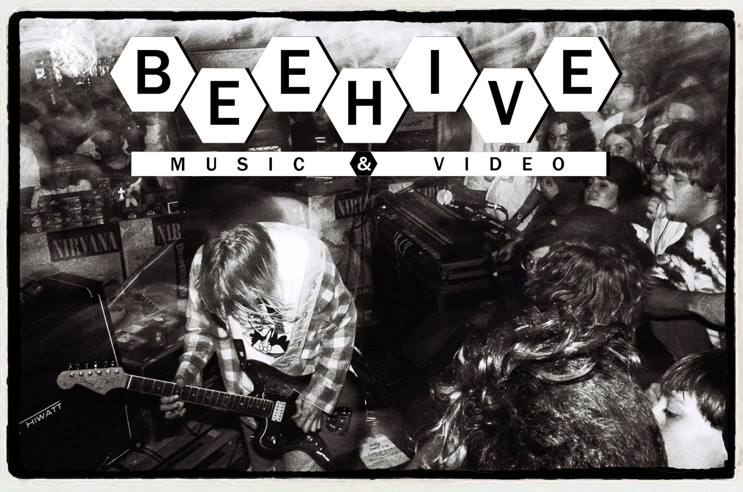 Nirvana na Beehive Music & Video – 16 de Setembro de 1991