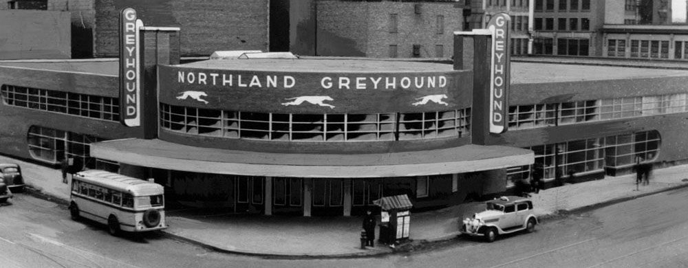 1937 Greyhound Bus Depot - Nirvana no First Avenue Club