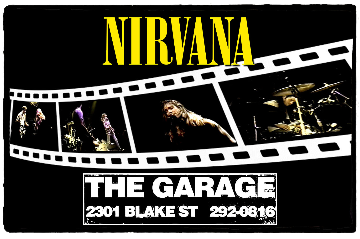 Nirvana no The Garage – 11 de Outubro de 1989