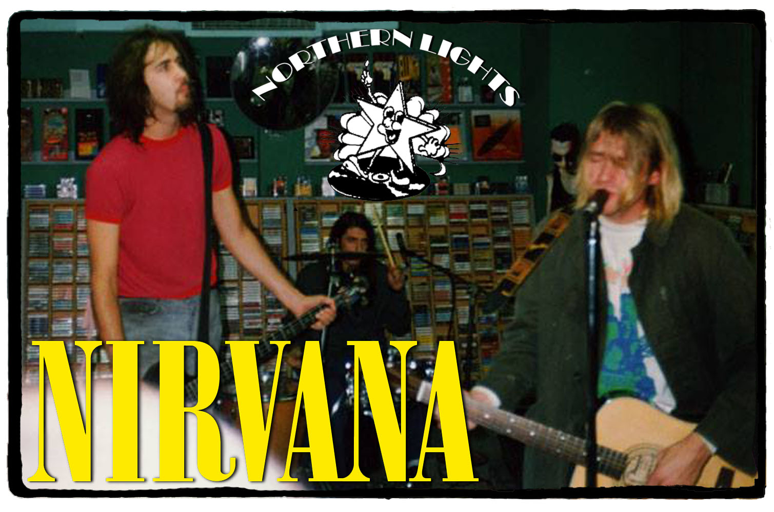 Nirvana na Northern Lights – 14 de Outubro de 1991