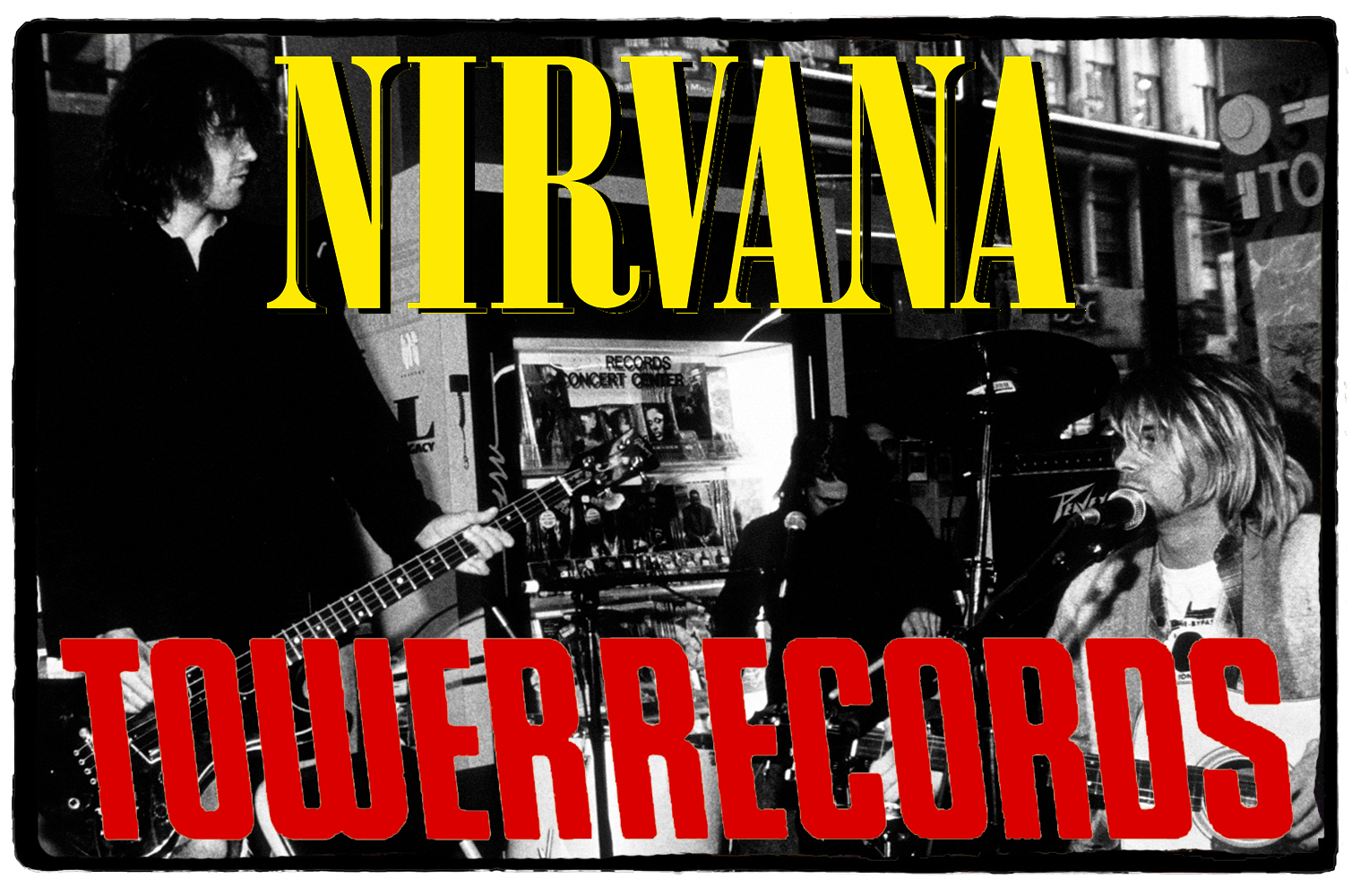 Nirvana na Tower Records – 28 de Setembro de 1991