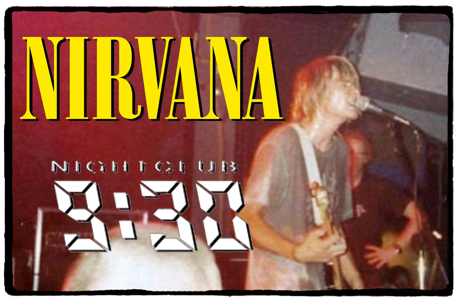Nirvana no 9:30 Club – 02 de Outubro de 1991