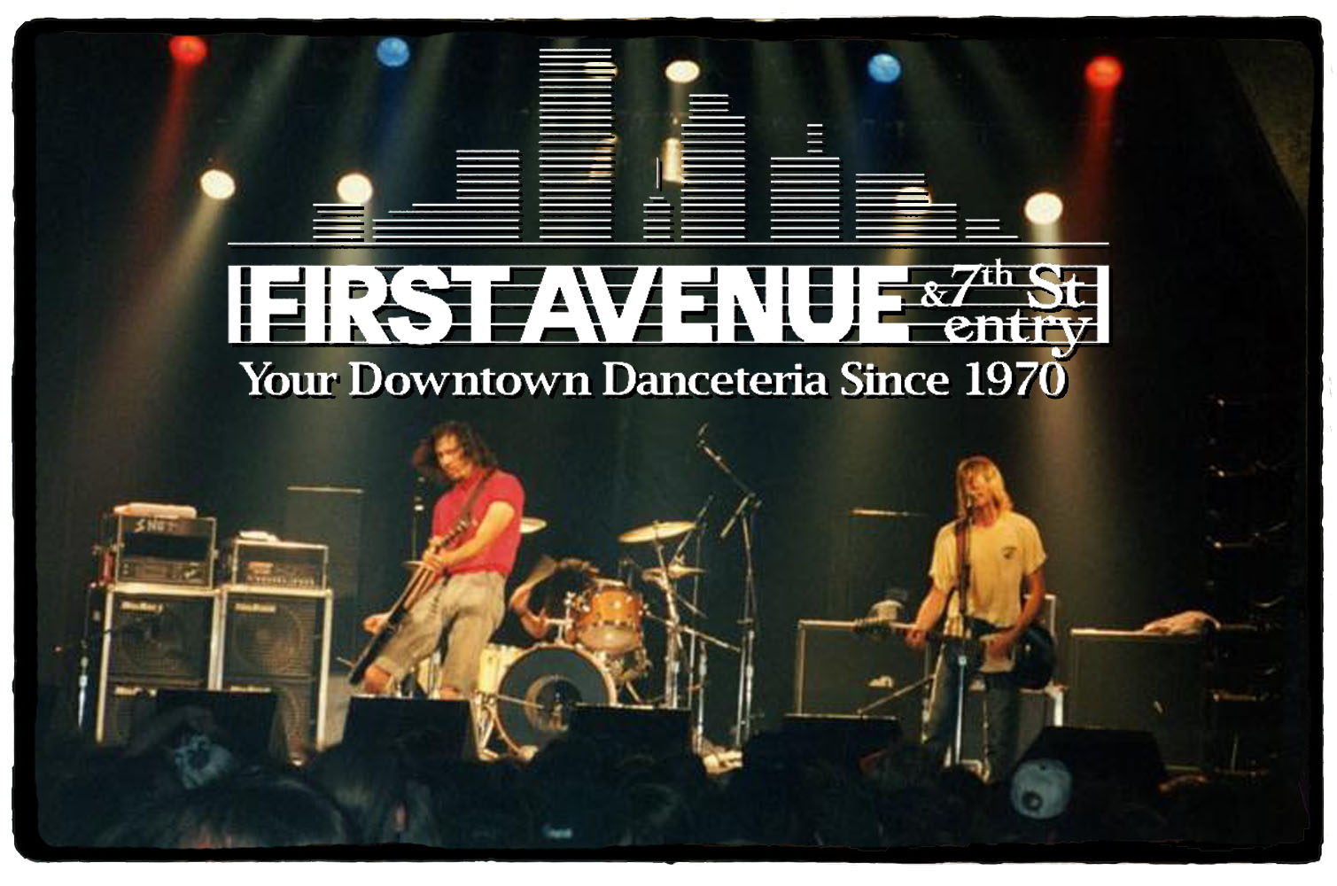Nirvana no First Avenue Club – 14 de Outubro de 1991