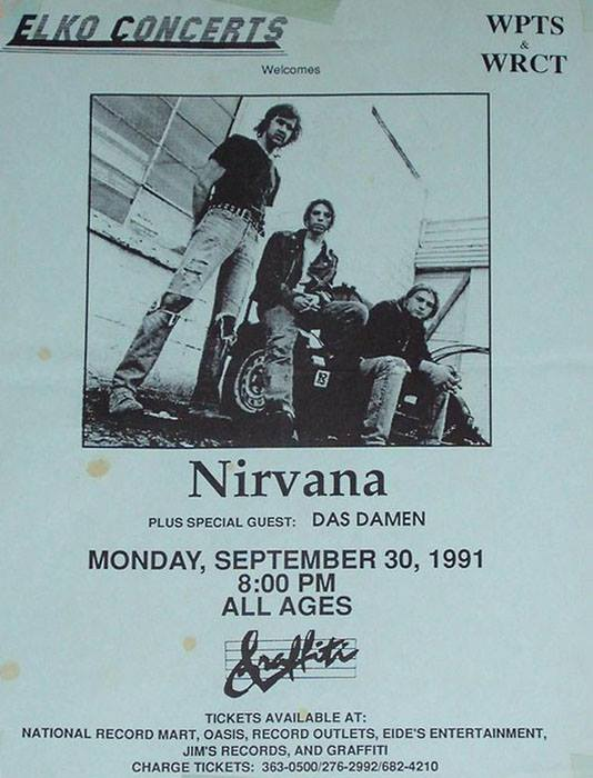 Nirvana no Graffitti - flyer