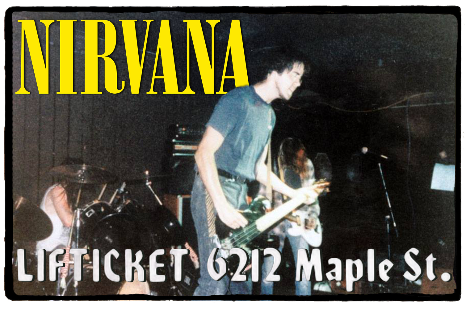 Nirvana no LifTicket Lounge – 08 de Outubro de 1989
