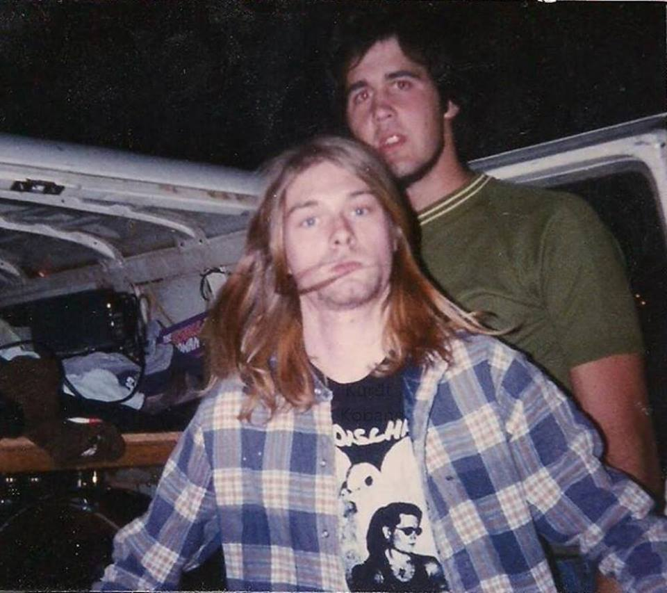 Nirvana no Penny Lane Coffeehouse - bastidores
