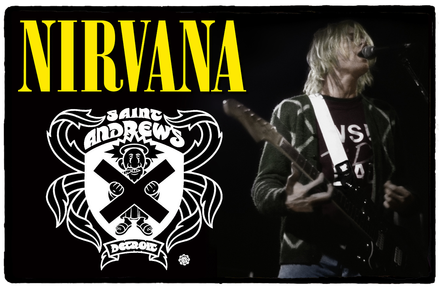 Nirvana no Saint Andrews Hall – 11 de Outubro de 1991