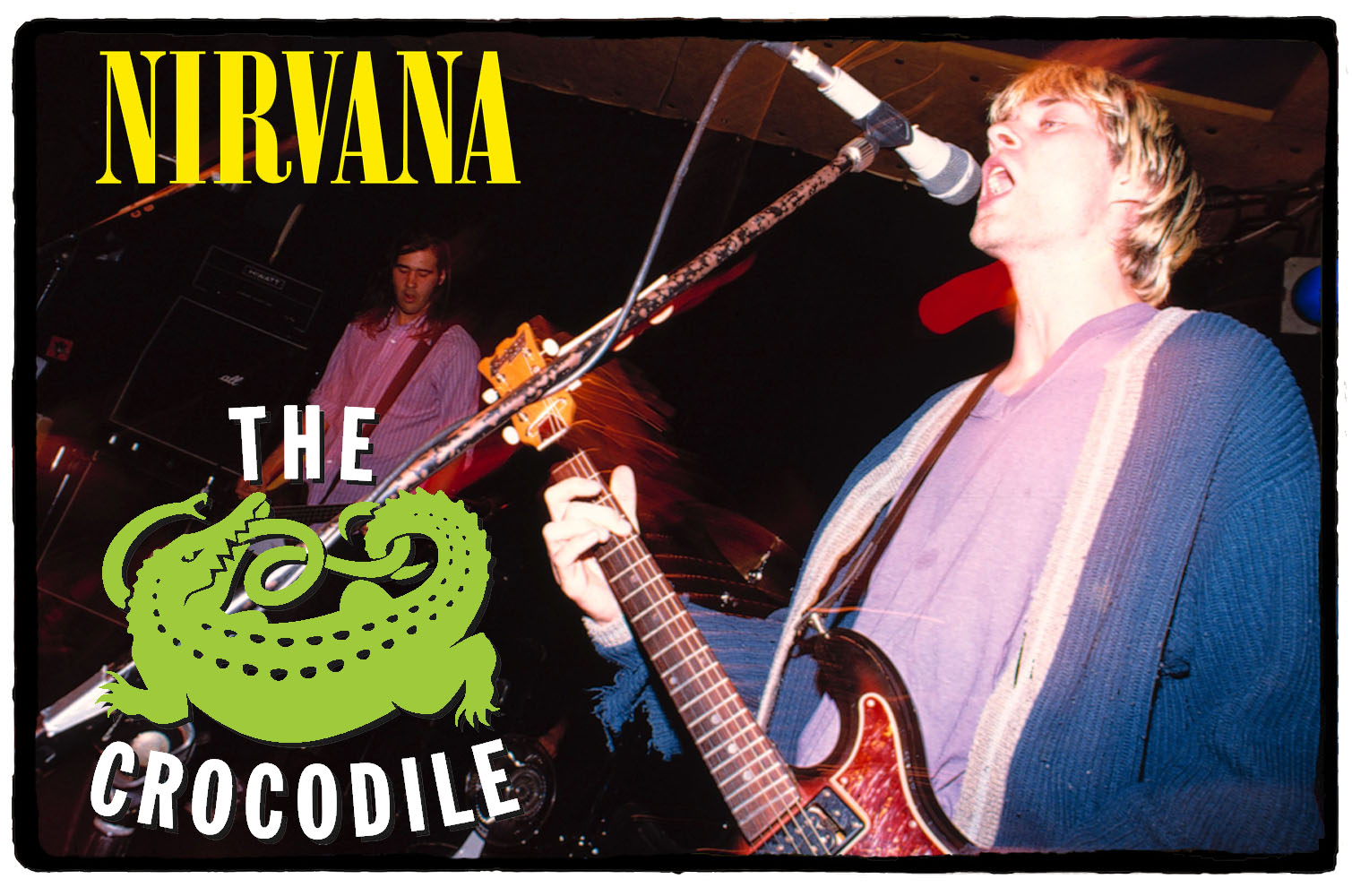 Nirvana no The Crocodile Cafe – 04 de Outubro de 1992