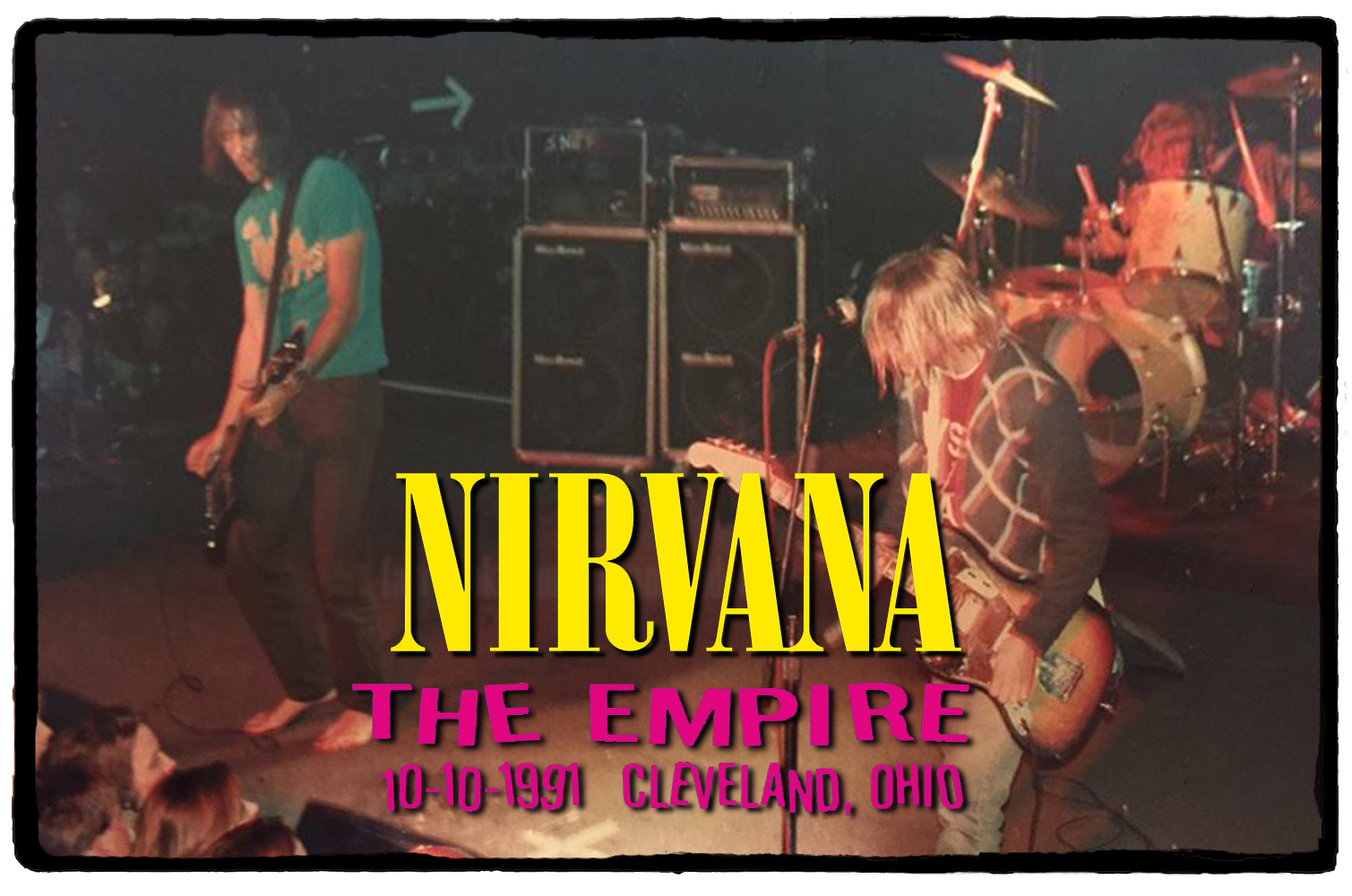 Nirvana no The Empire Concert Club – 10 de Outubro de 1991