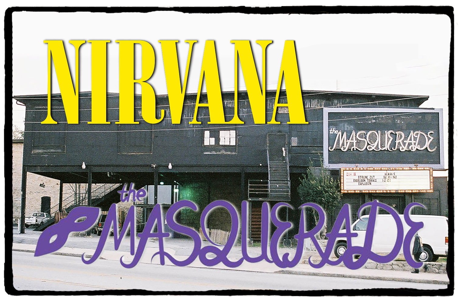 Nirvana no The Masquerade – 06 de Outubro de 1991