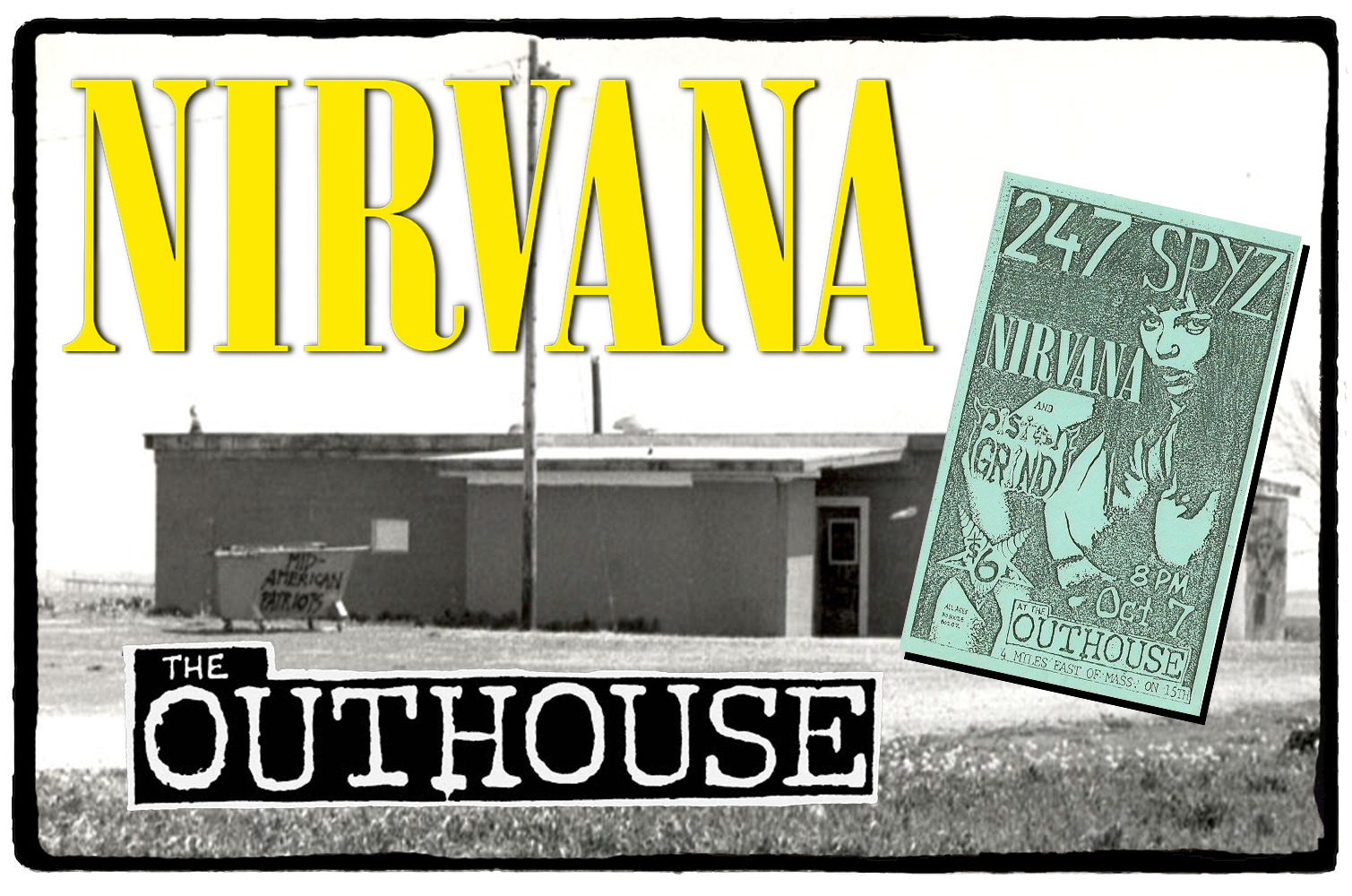 Nirvana no The Outhouse – 07 de Outubro de 1989