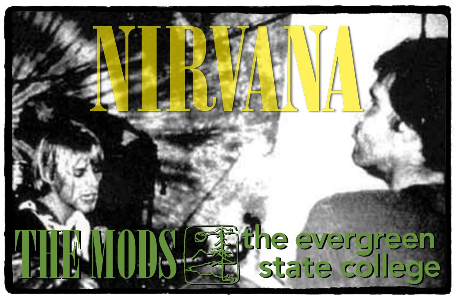 Nirvana no The Mods – 17 de Outubro de 1990