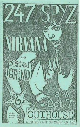 Nirvana no The Outhouse - Flyer